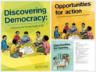 Discovering Democracy: A resource for young people in Fiji