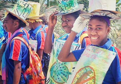 Students use Arts for Advocacy to improve WASH