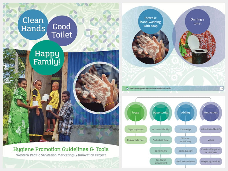 Clean Hands, Good Toilet, Happy Family!