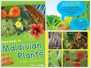Cover page for the document 'Field Guide to Maldivian Plants'